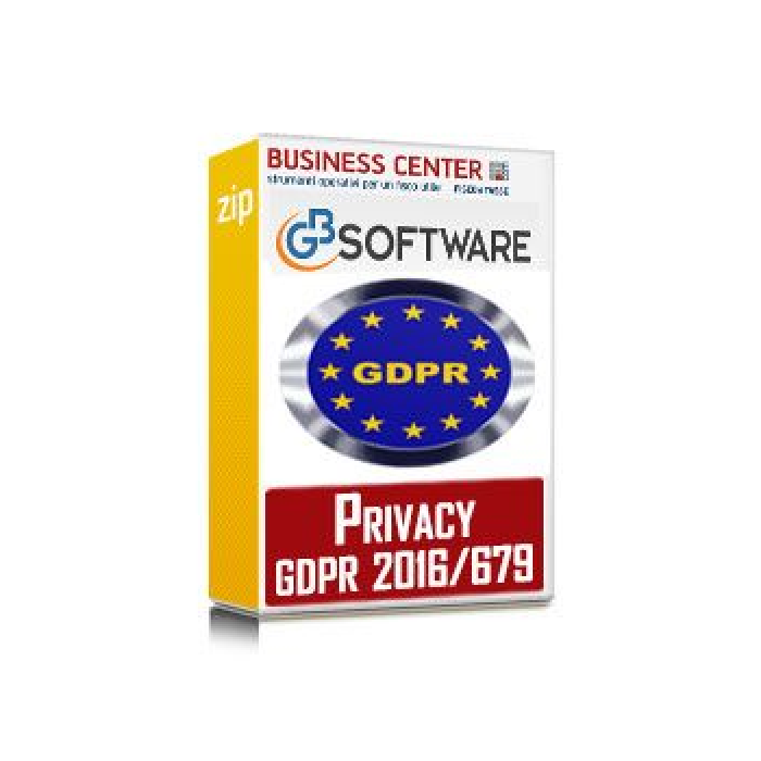 Software Privacy GDPR 2016/679 - 1 anagrafica