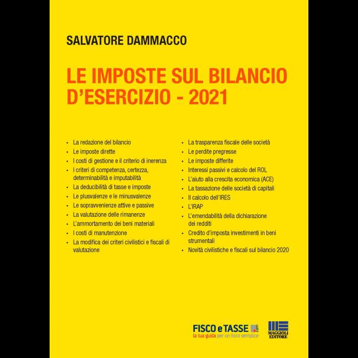 Le imposte sul Bilancio d'esercizio (eBook 2021)