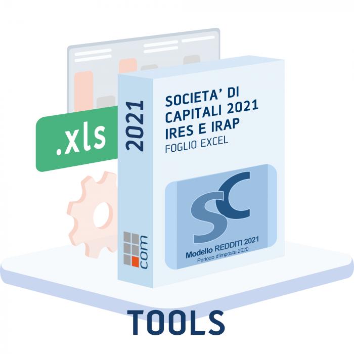 Calcolo IRES e IRAP 2021 - Redditi Società di Capitali