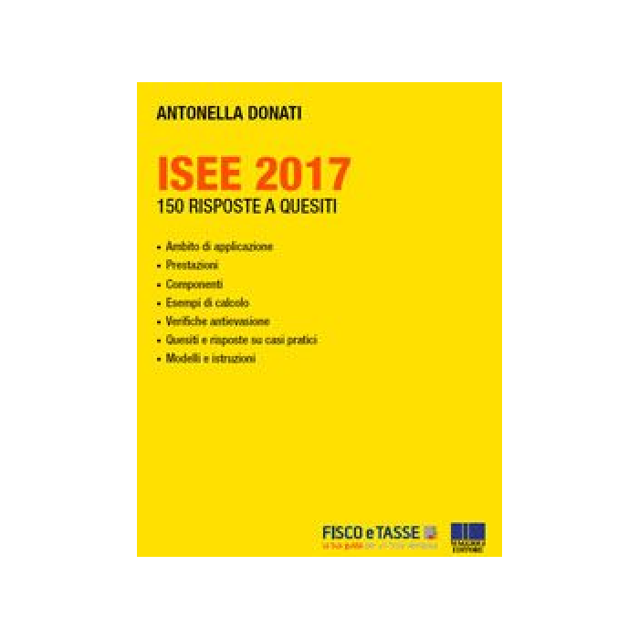 ISEE 2017 - 150 risposte a quesiti (eBook)