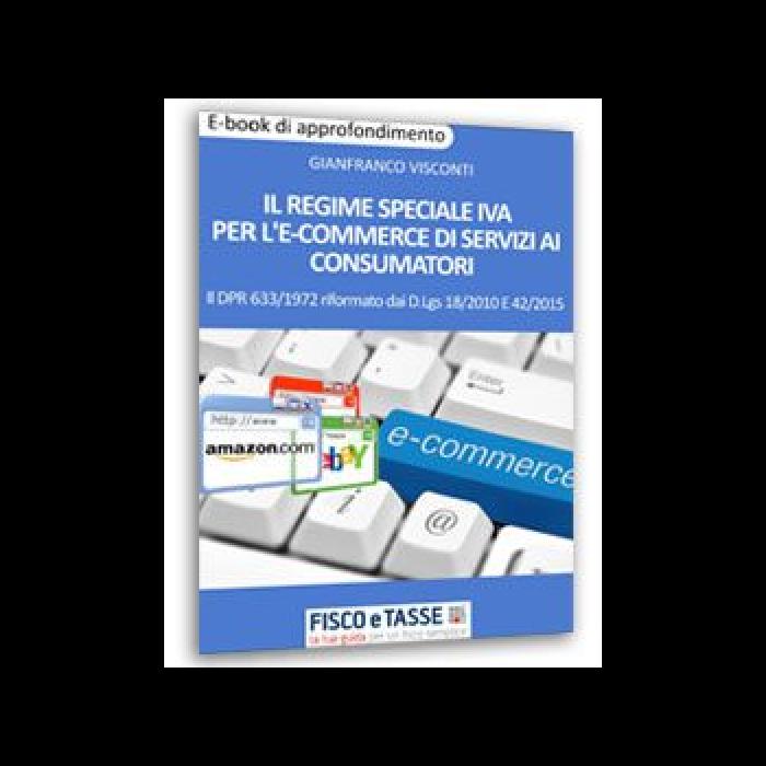 Regime speciale Iva ecommerce di servizi ai consumatori