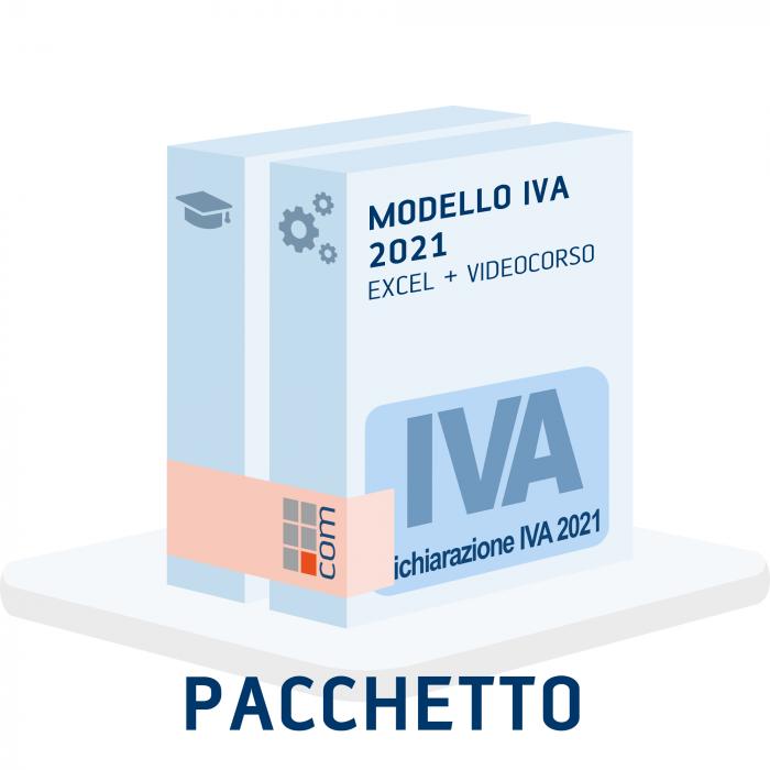 Modello IVA 2021 (excel) + Videocorso