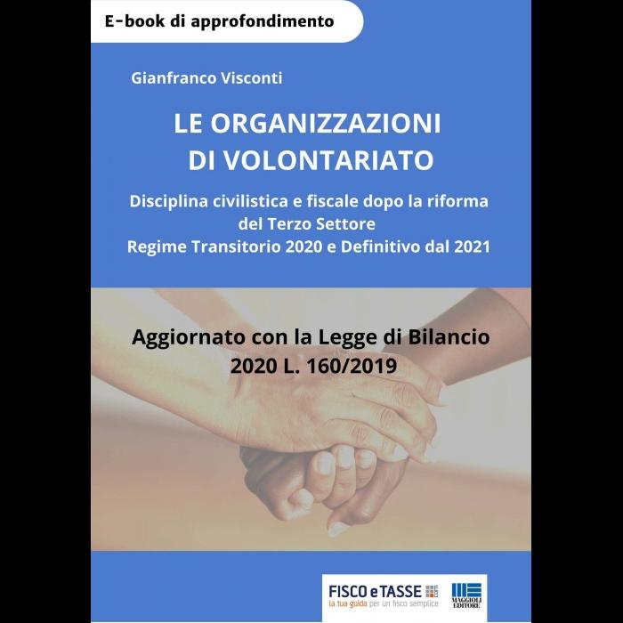 Le organizzazioni di volontariato (eBook 2020)