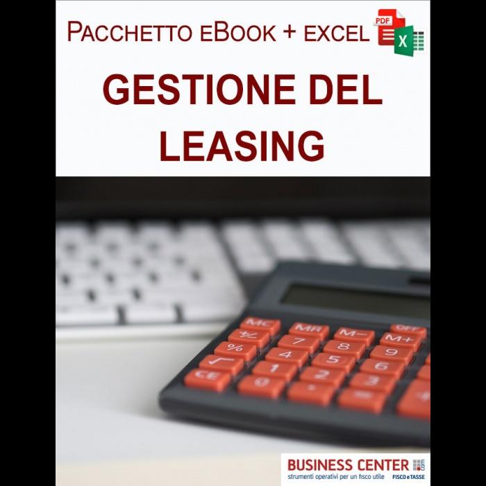 Leasing finanziario (eBook + excel)