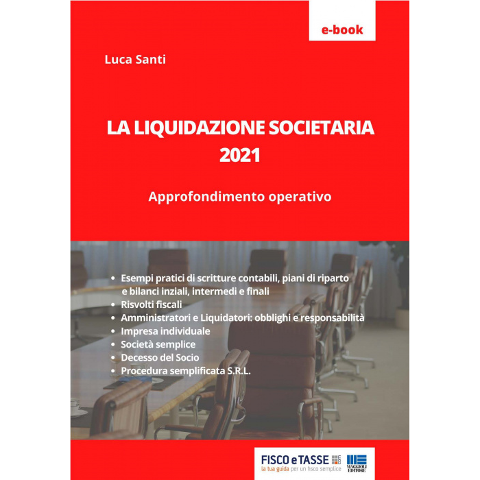 La liquidazione societaria (eBook 2021)