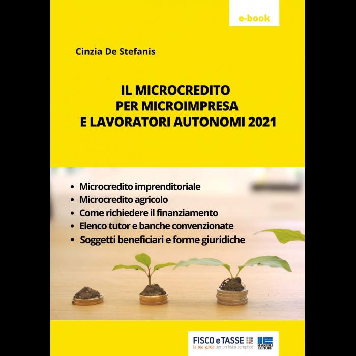 Microcredito per microimpresa e lavoratori autonomi