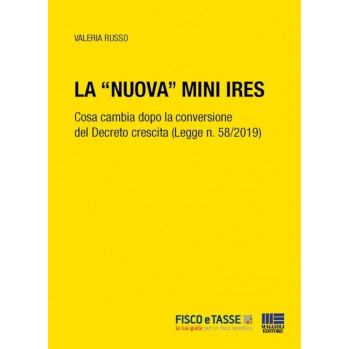 La nuova mini Ires (eBook 2019)
