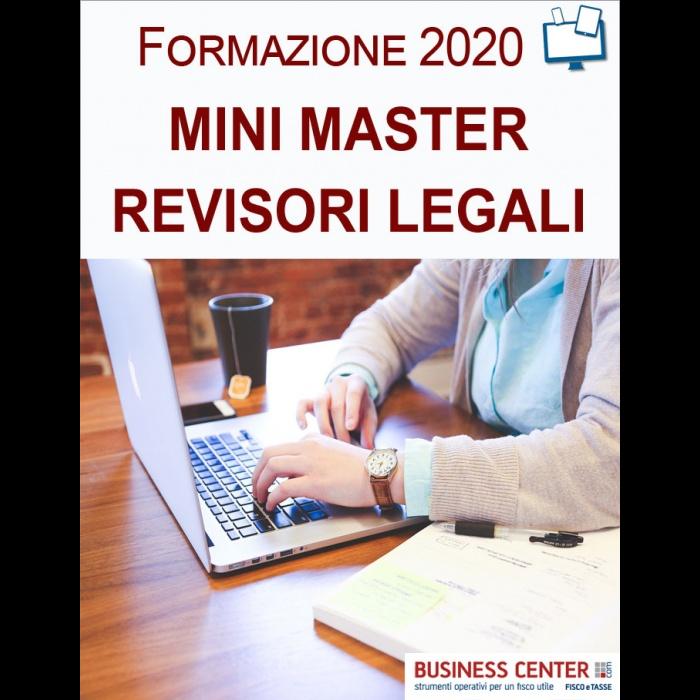 Mini Master Revisori Legali 2021