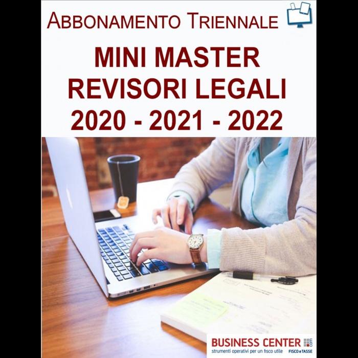 Mini Master Revisori Legali - Abbonamento Biennale