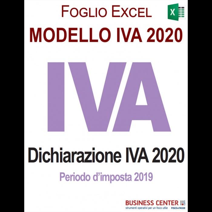 Modello IVA 2020 (excel)