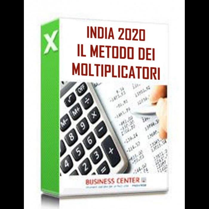 Il Metodo dei Multipli 2020 - INDIA