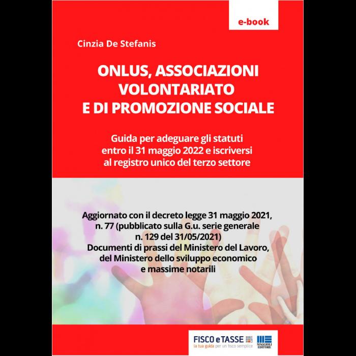 Onlus - Associazioni volontariato e promozione sociale