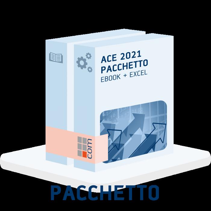 ACE 2021 - Aiuto alla crescita economica excel + eBook