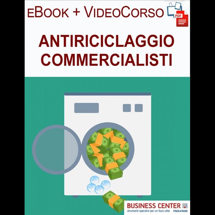 Antiriciclaggio commercialisti (eBook + Videocorso)