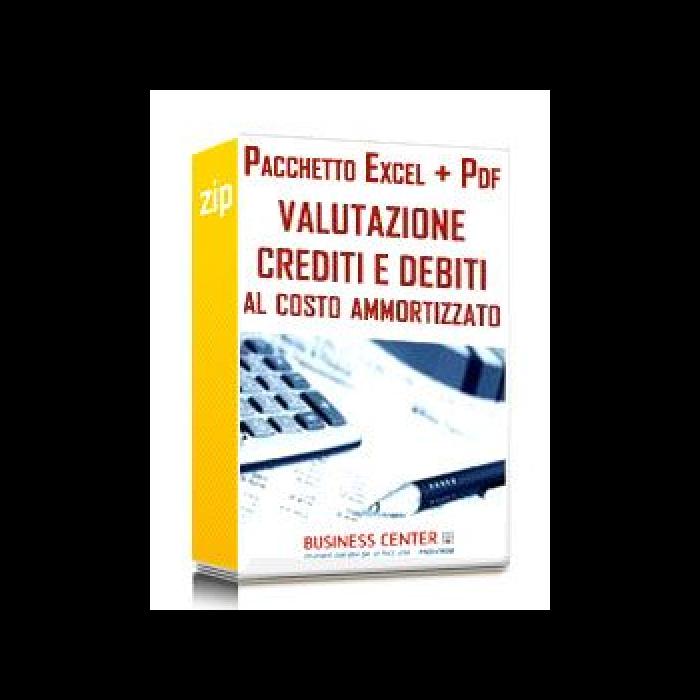 Valutazione al costo ammortizzato (Excel + Slides)
