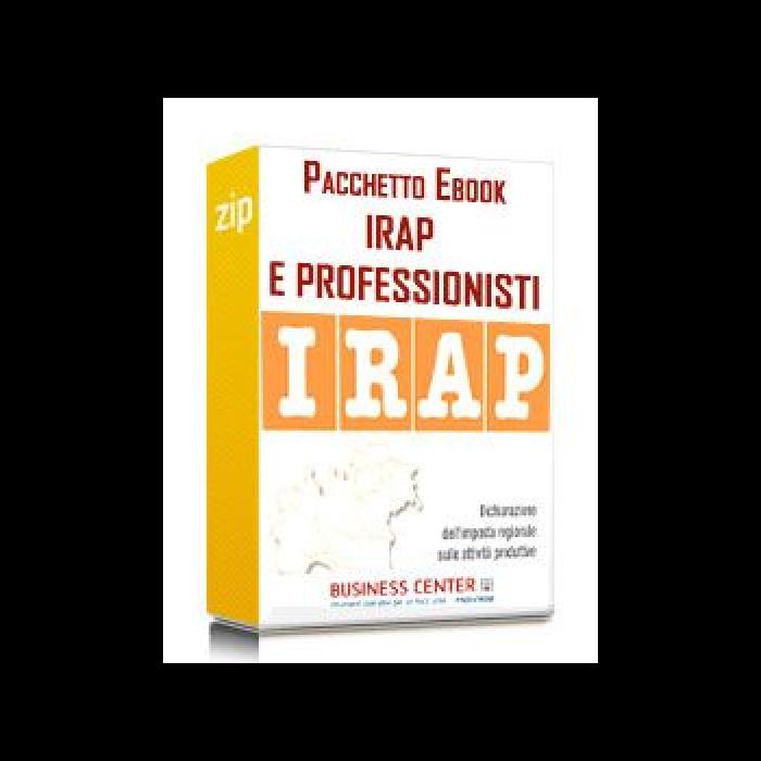 Irap e professionisti - Pacchetto eBook