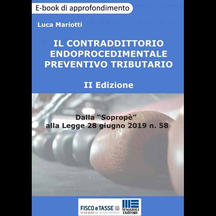 Contraddittorio endoprocedimentale preventivo (eBook)