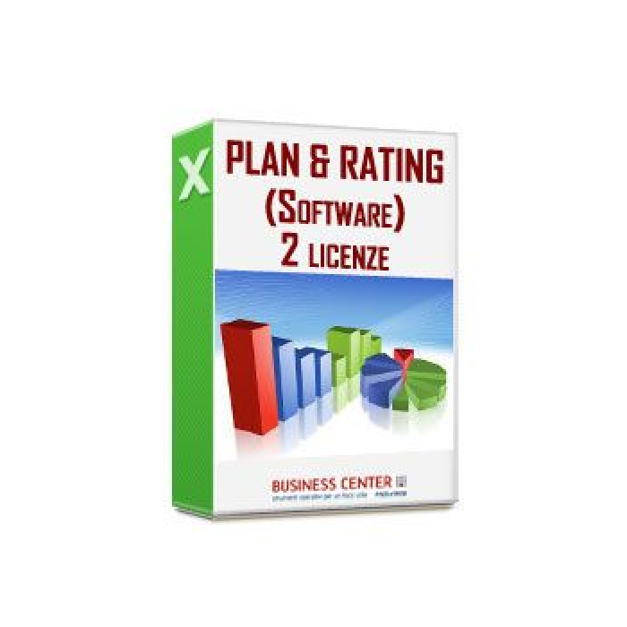 Plan & Rating (Software) - 2 Licenze