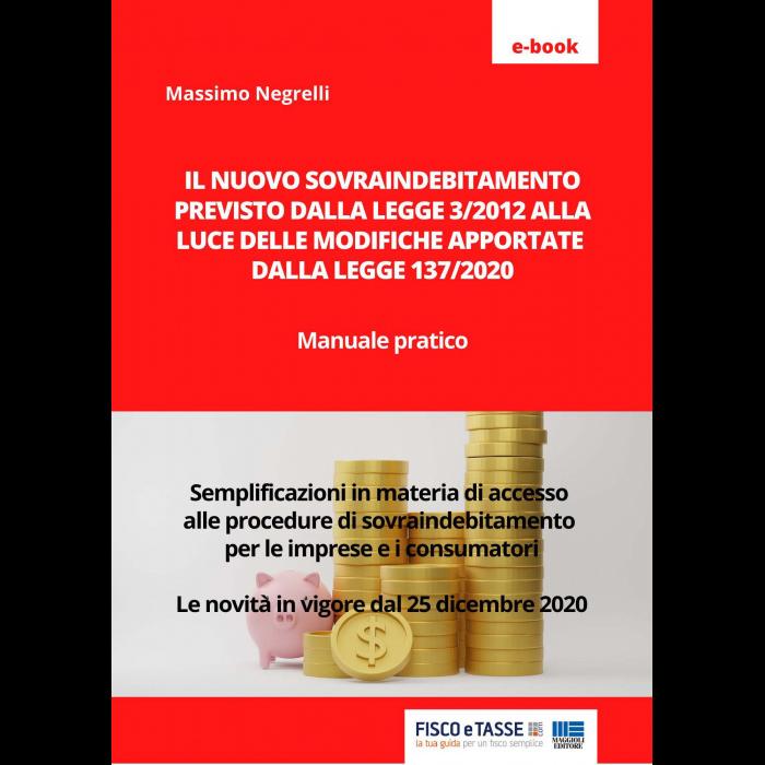 Il nuovo sovraindebitamento (eBook 2021)