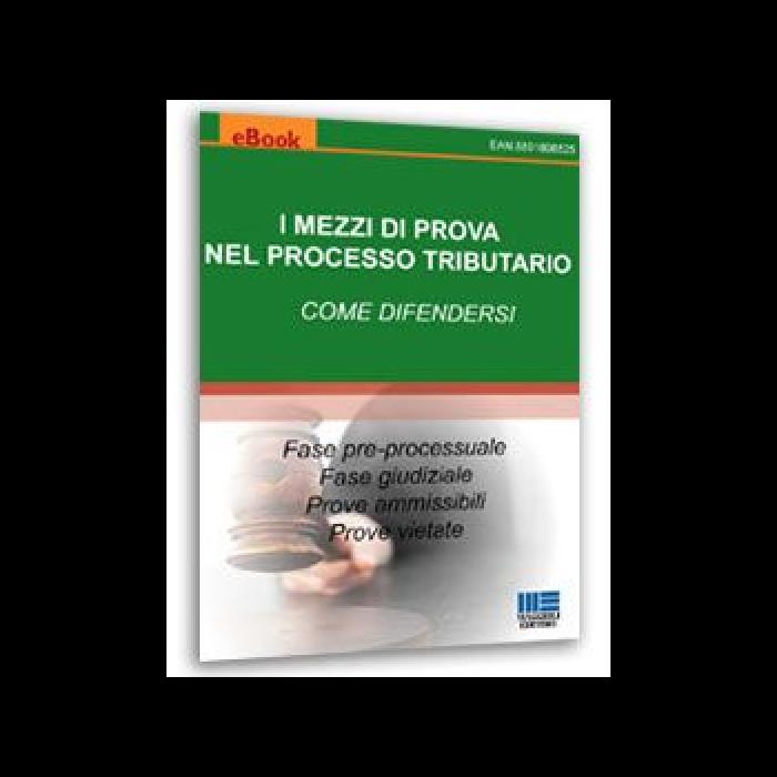 I mezzi di prova nel processo tributario (eBook)