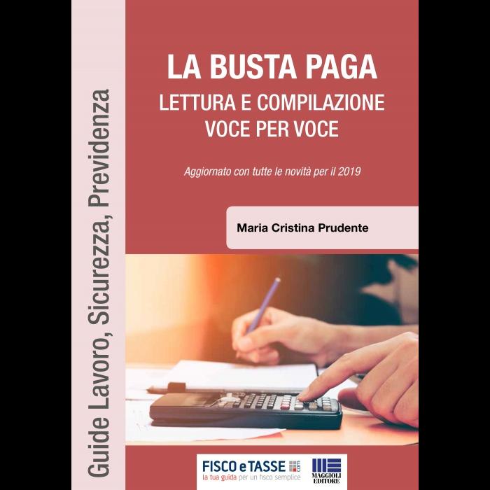 La Busta paga - lettura e compilazione (eBook 2019)
