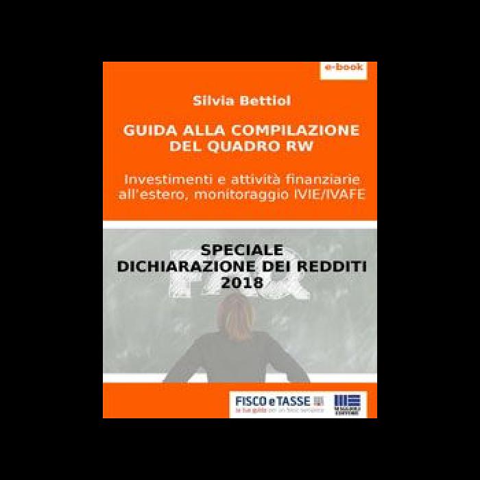 Guida alla compilazione del Quadro RW (eBook 2018)