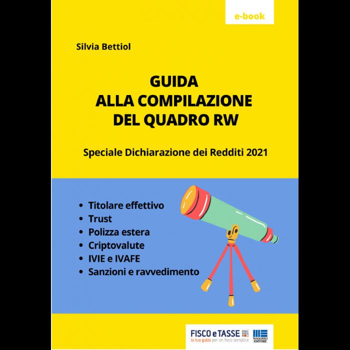 Guida alla compilazione del Quadro RW 2021 (eBook)