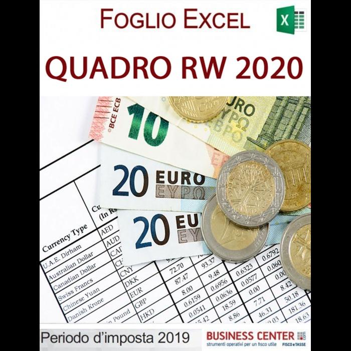 Quadro RW 2020 (excel)