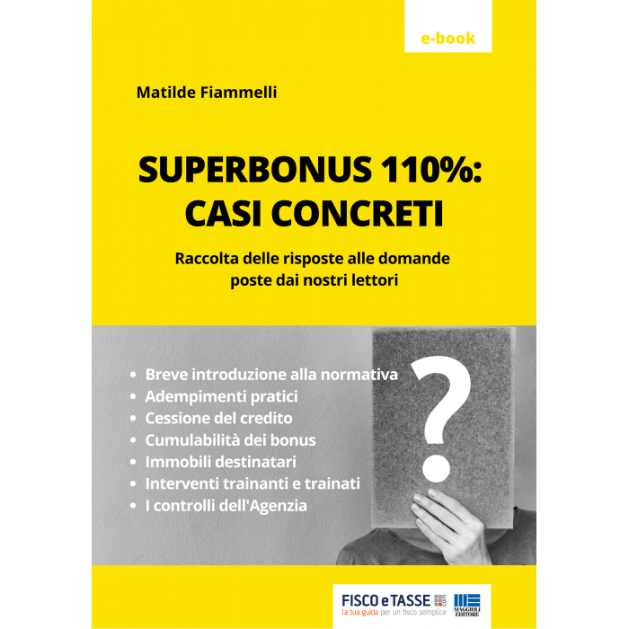 Superbonus 110%: casi concreti (eBook 2020)