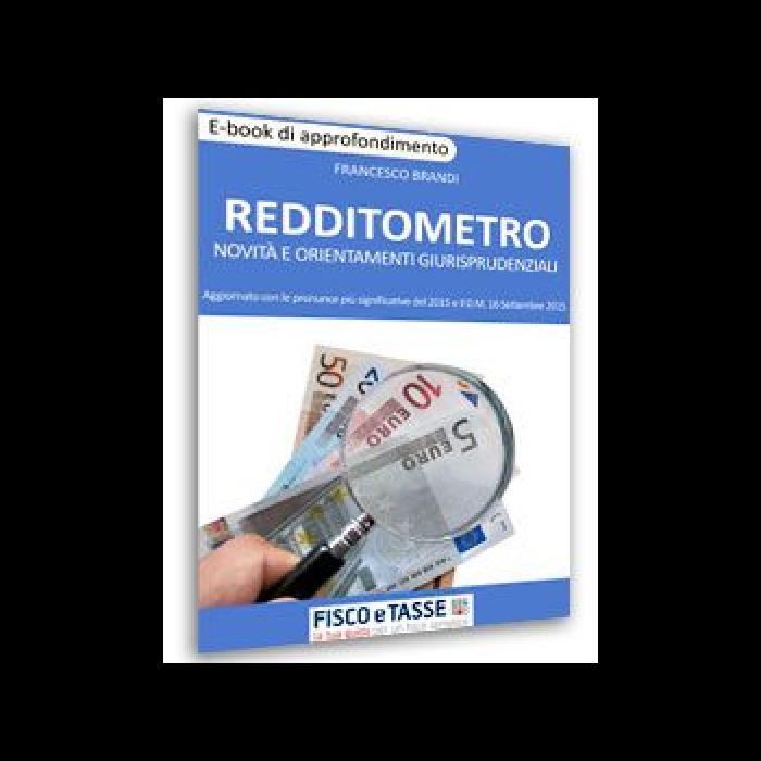 Redditometro - Novità e orientamenti giurisprudenziali