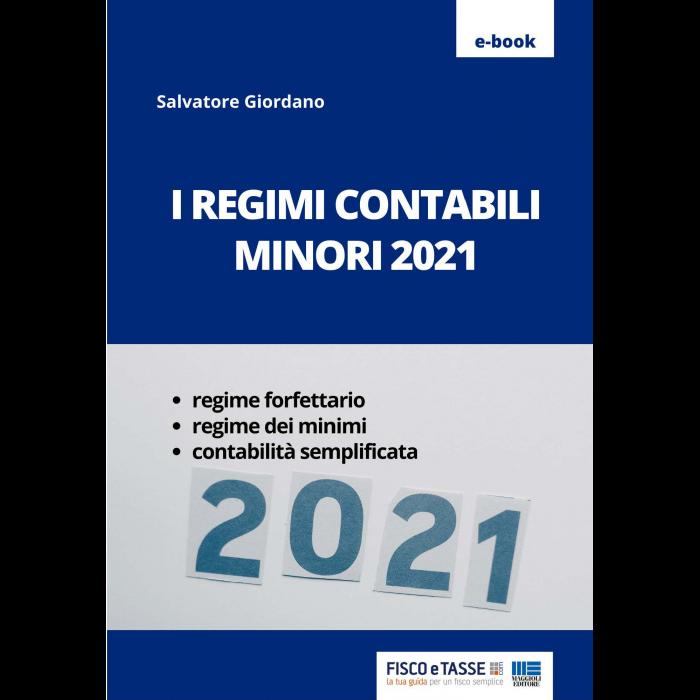 I regimi contabili minori 2021 (eBook)