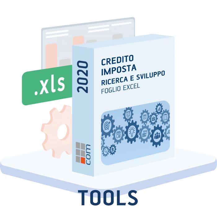 Calcolo Credito imposta Ricerca e Sviluppo (excel)