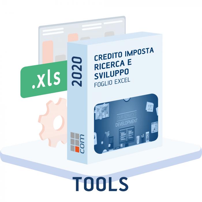 Calcolo Credito imposta Ricerca e Sviluppo 2020 (excel)