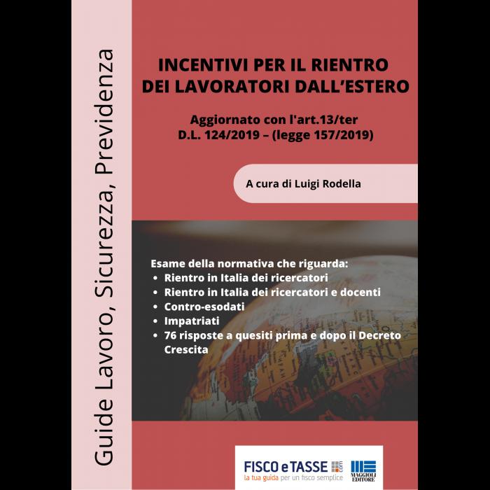 Incentivi per il rientro dei lavoratori dall'estero