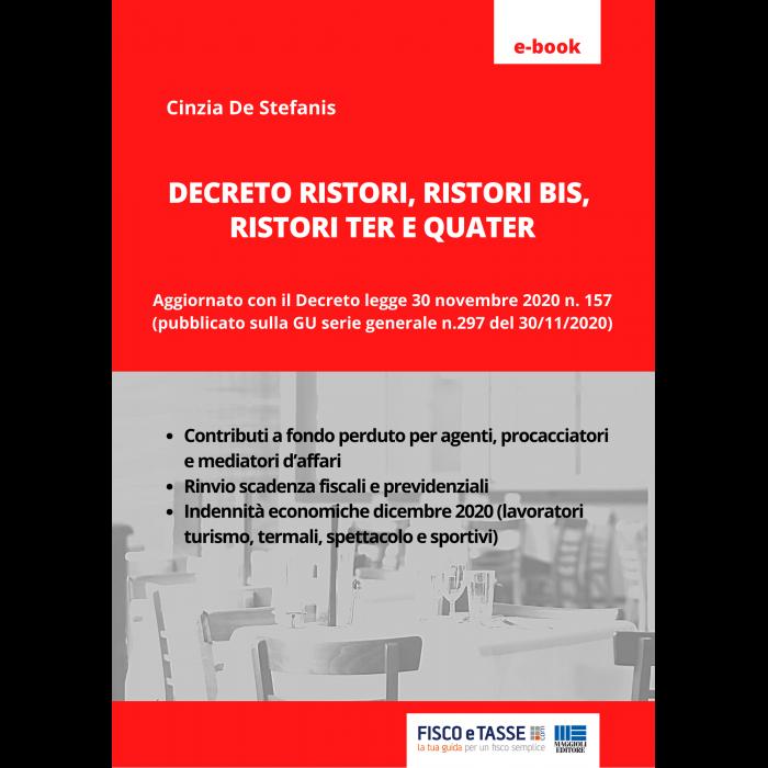 Decreto Ristori, Ristori Bis, Ter e Quater (eBook 2020)