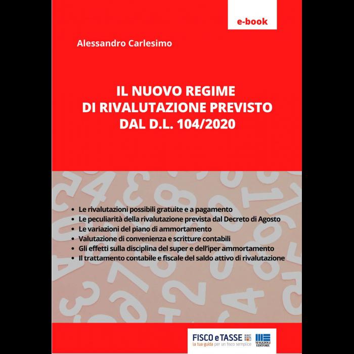 Il nuovo regime di rivalutazione DL 104/2020 (eBook)