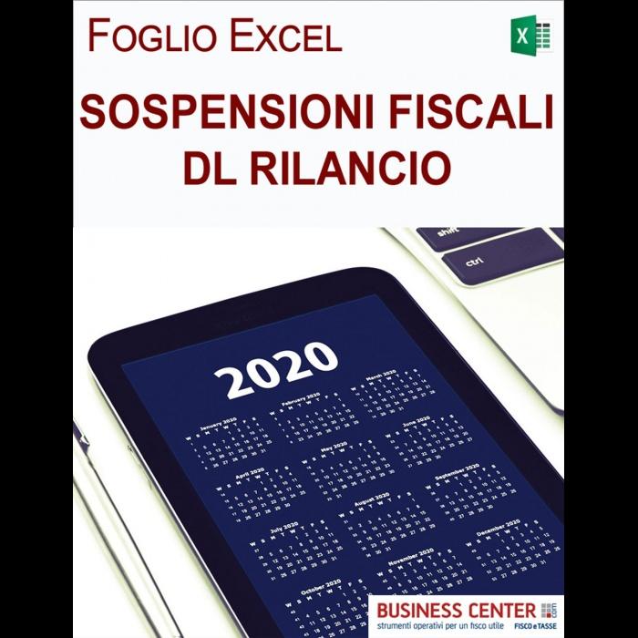 Sospensioni fiscali - Calcolo rate (Excel)