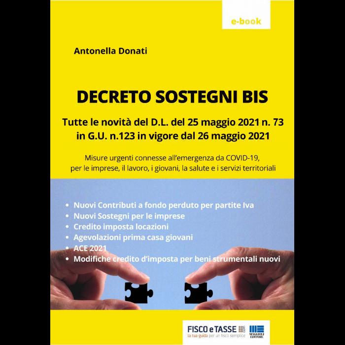 Decreto Sostegni BIS (eBook 2021)