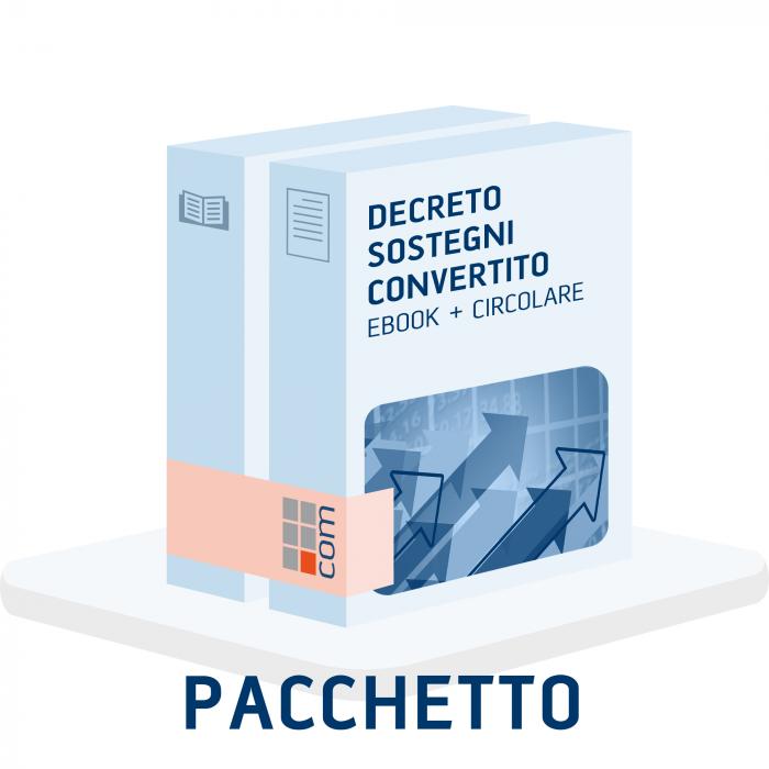 Conversione Decreto Sostegni eBook + Circolare clienti