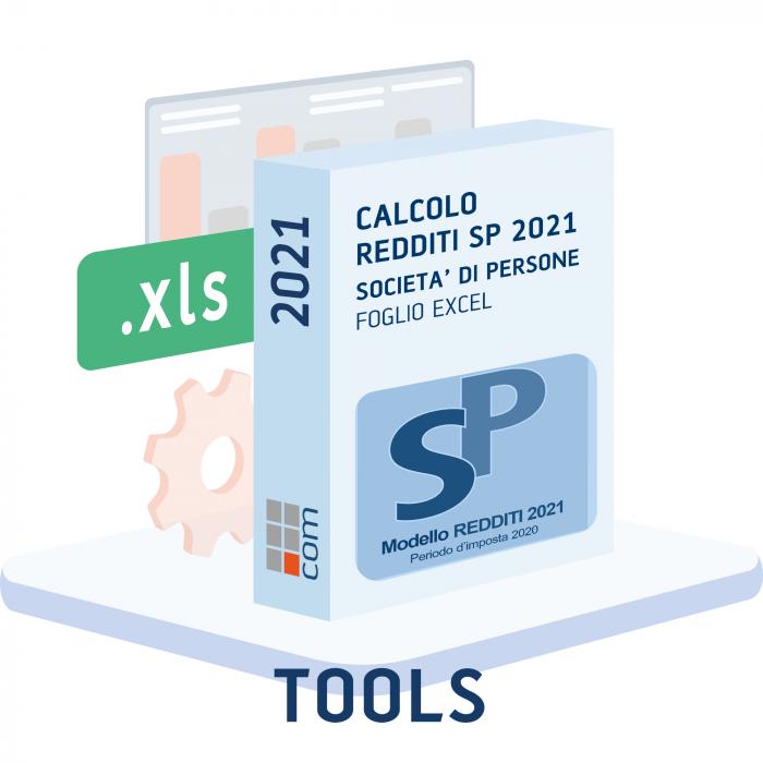 Calcolo Redditi e Irap 2021 Società di Persone (Excel)