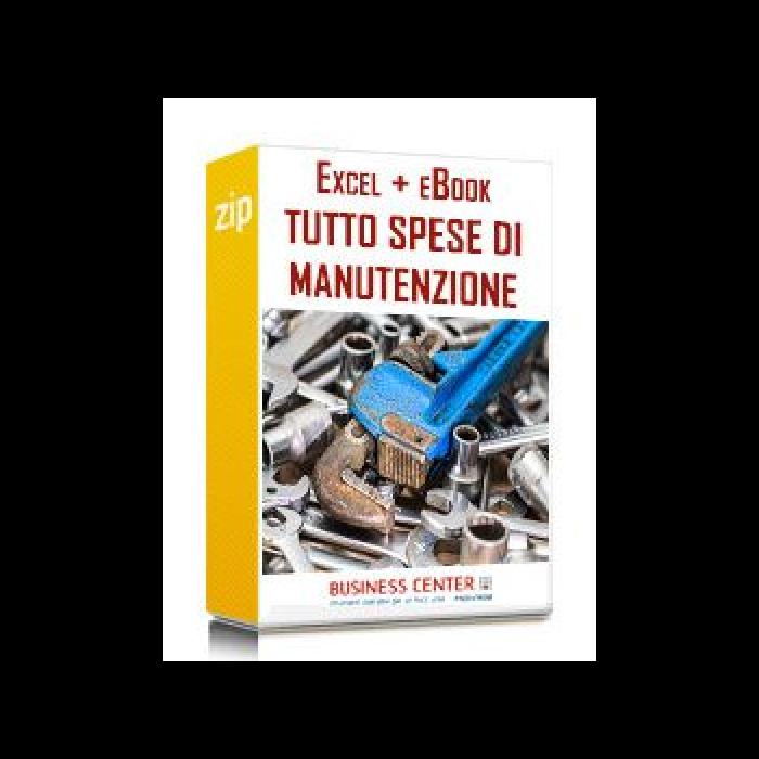 Spese di manutenzione (Excel + eBook)