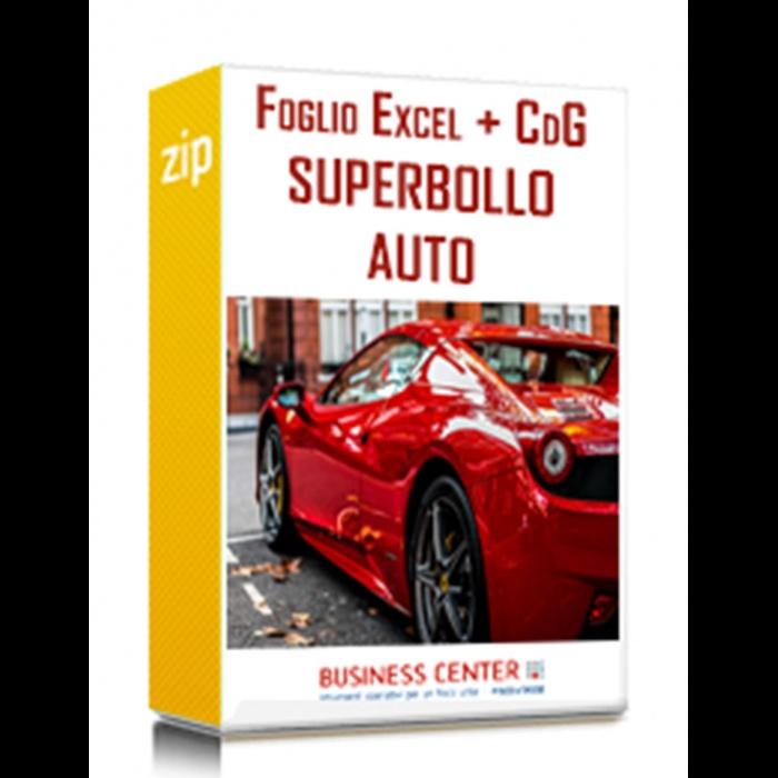 Calcolo Superbollo auto (excel) + Circolare del Giorno