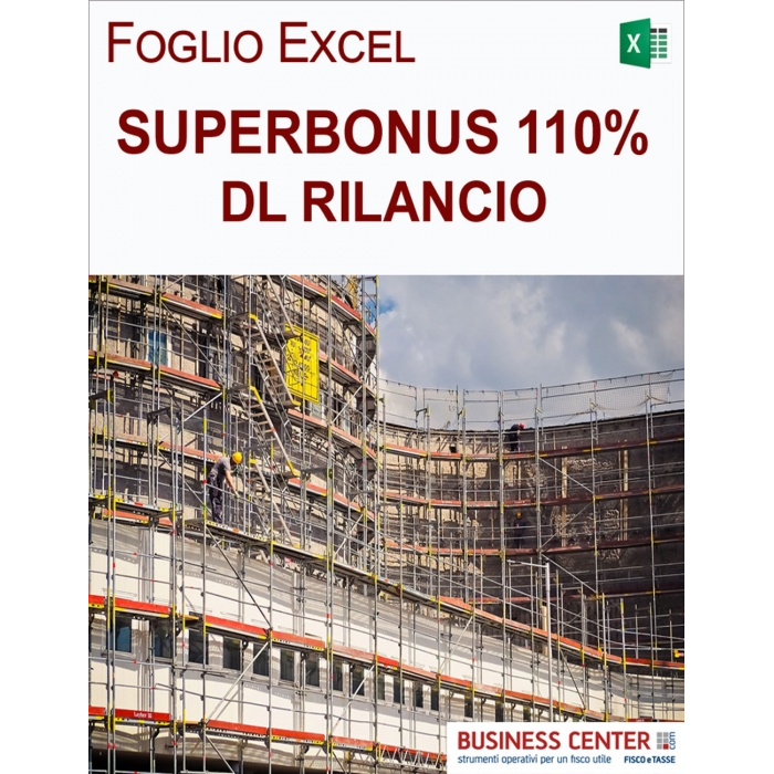 Superbonus 110 per cento: calcolo del beneficio (Excel)
