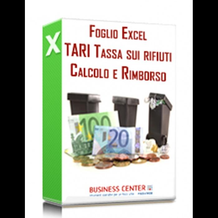 Calcolo TARI e Istanza di Rimborso (Excel)