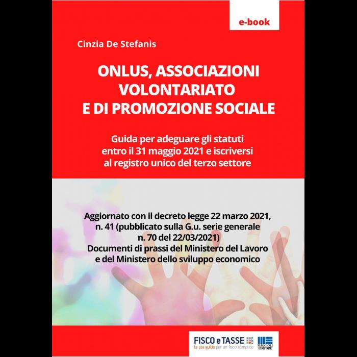 Onlus, Associazioni volontariato e promozione sociale