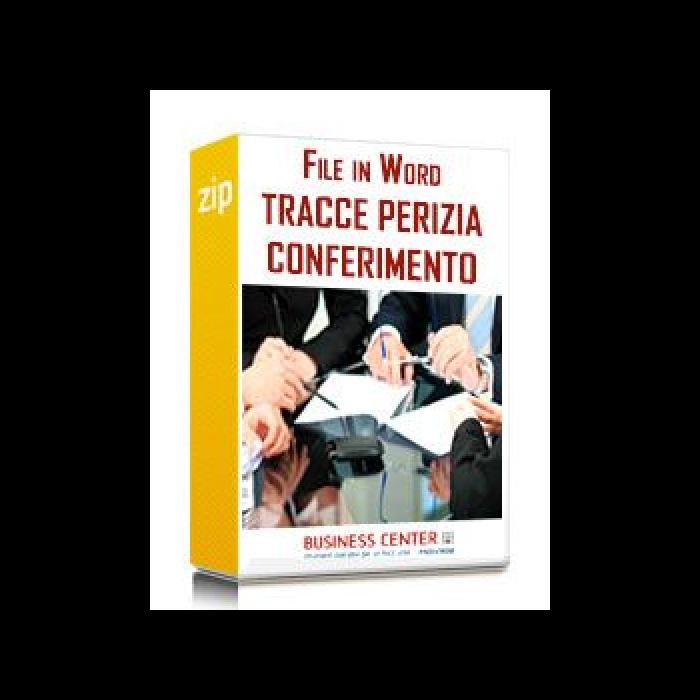 Tracce Perizia di Stima per Conferimento