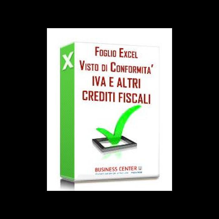 Visto di conformità IVA e altri crediti 2020 - (excel)