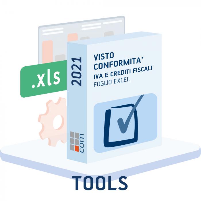 Visto di conformità IVA e altri crediti 2021 - (excel)