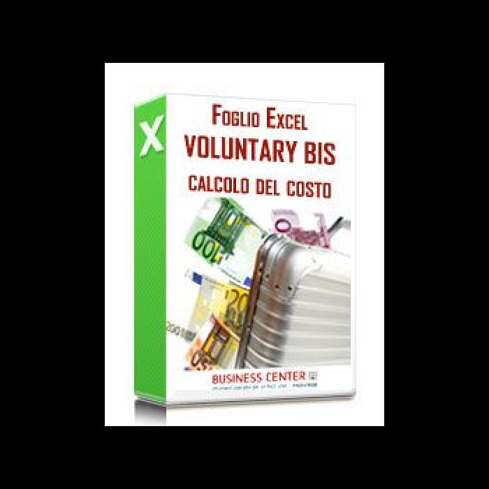 Voluntary disclosure bis: calcolo del costo (excel)