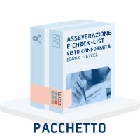 Asseverazioni e Check-list visto conformità - Pacchetto